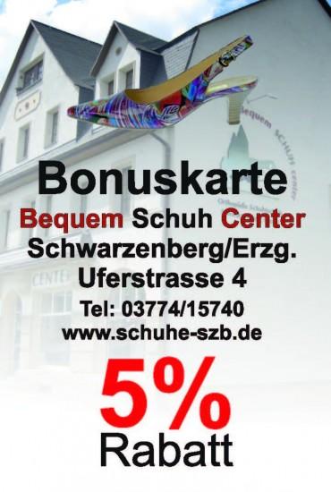Bonuskarte 5% Bequem-Schuh-Center