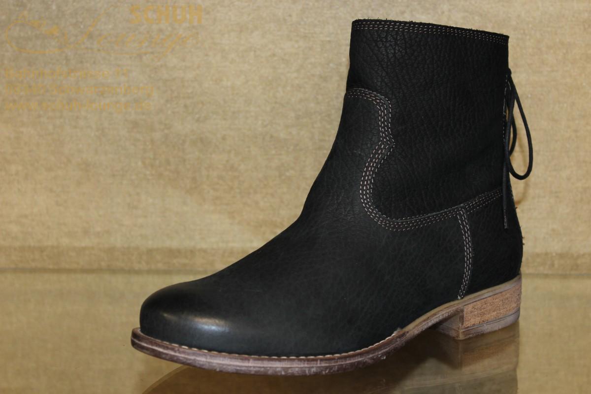 Schlichte schwarze Stiefelette von Seibel
