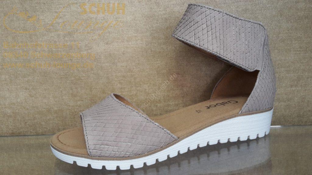 Top moderne Sandalette von Gabor in der Farbe beige