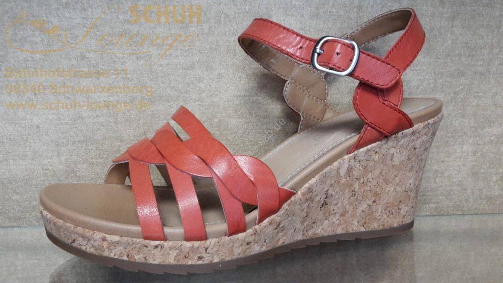 Sandalette mit Keilplateau von Josef Seibel