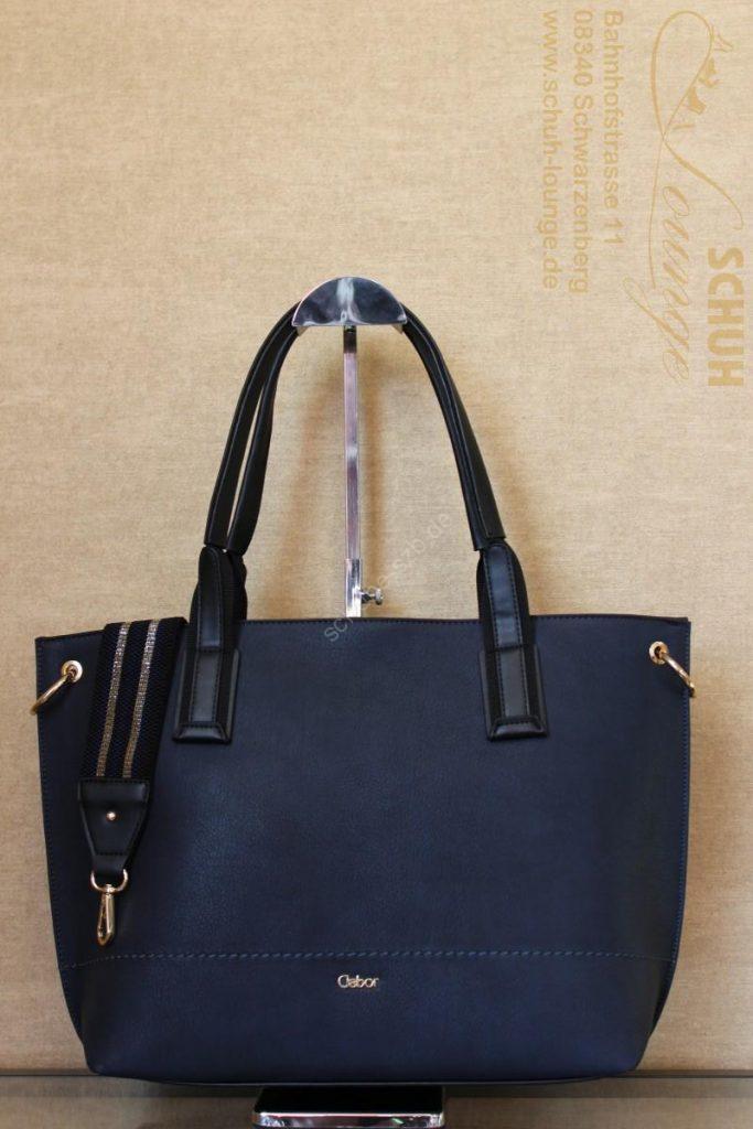 Geradliniger Gabor-Shopper in elegantem Design