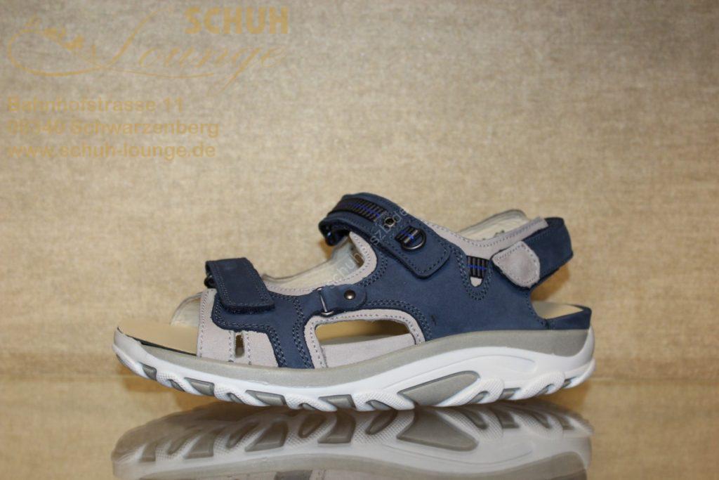 Trekking-Sandale mit Wechselfußbett von Waldläufer