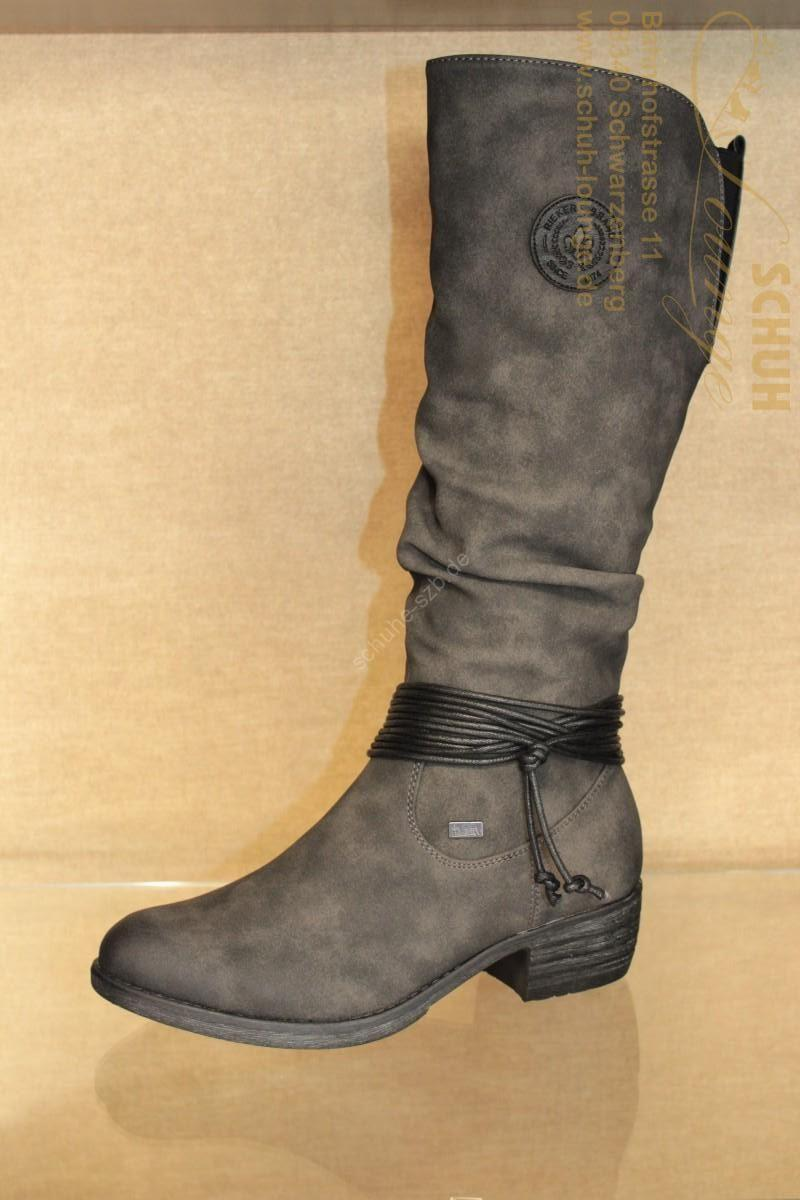 RiekerTex-Stiefel im trendigen Washed Out-Look